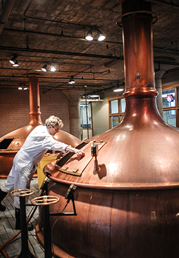 An American craft brewer is: