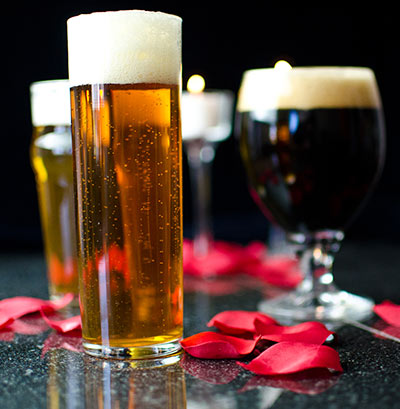 Valentines Day with Craft Beer