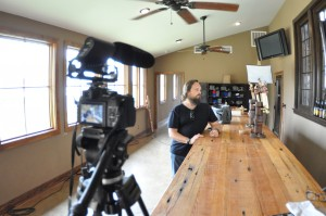 Dr. Greg Zeschuk from The Beer Diaries at Jester King Brewery
