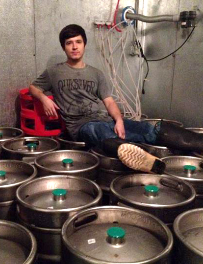 Youngest Head Brewer in the Country