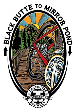Black Butte to Mirror Pond Logo