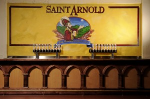 Saint Arnold Brewing Company taproom