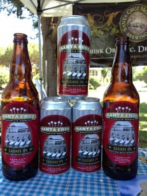 Santa Cruz Mountain Brewing's new release - Casinos IPA